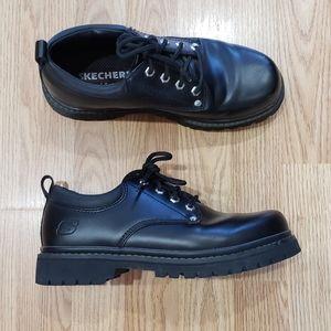 Vintage Skechers Black Chunky Combat Boots
